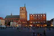 Stralsund_Alter_Markt_Abend_